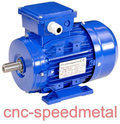 0,75kW Elektromotor 380V 1410U//min 50Hz 750Watt Wellendurchmesser 19mm 01332