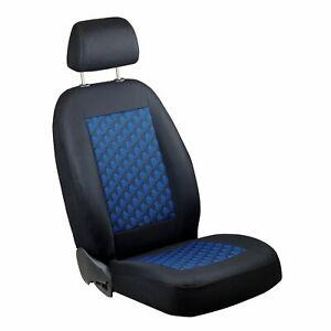 Schwarz-blau Effekt 3D Sitzbezüge für TOYOTA AURIS Autositzbezug Komplett