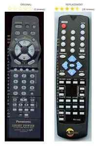 panasonic quasar tv vcr combo remote control for light tower and vcr rh ebay com Quasar TV RCA Quasar TV VCR Combo eBay