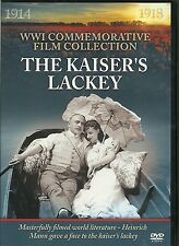 THE KAISER'S LACKEY WWI COMMEMORATIVE FILM DVD - WORLD WAR ONE