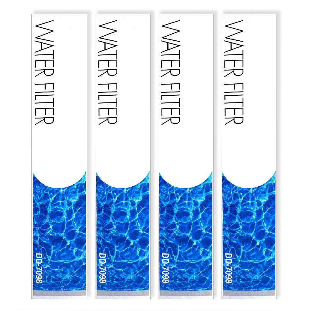 4 x Genuine Genuine Genuine Daewoo DD7098 and Bosch, LG, Siemens External Fridge Water Filter ba122d