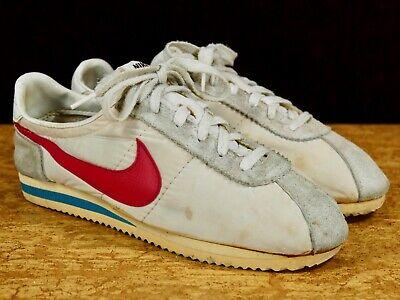 Algún día audición Condimento  Nike Senorita Cortez Sz 9.5 - vtg 1979 1980 nylon lady red blue Farrah  Fawcett | eBay