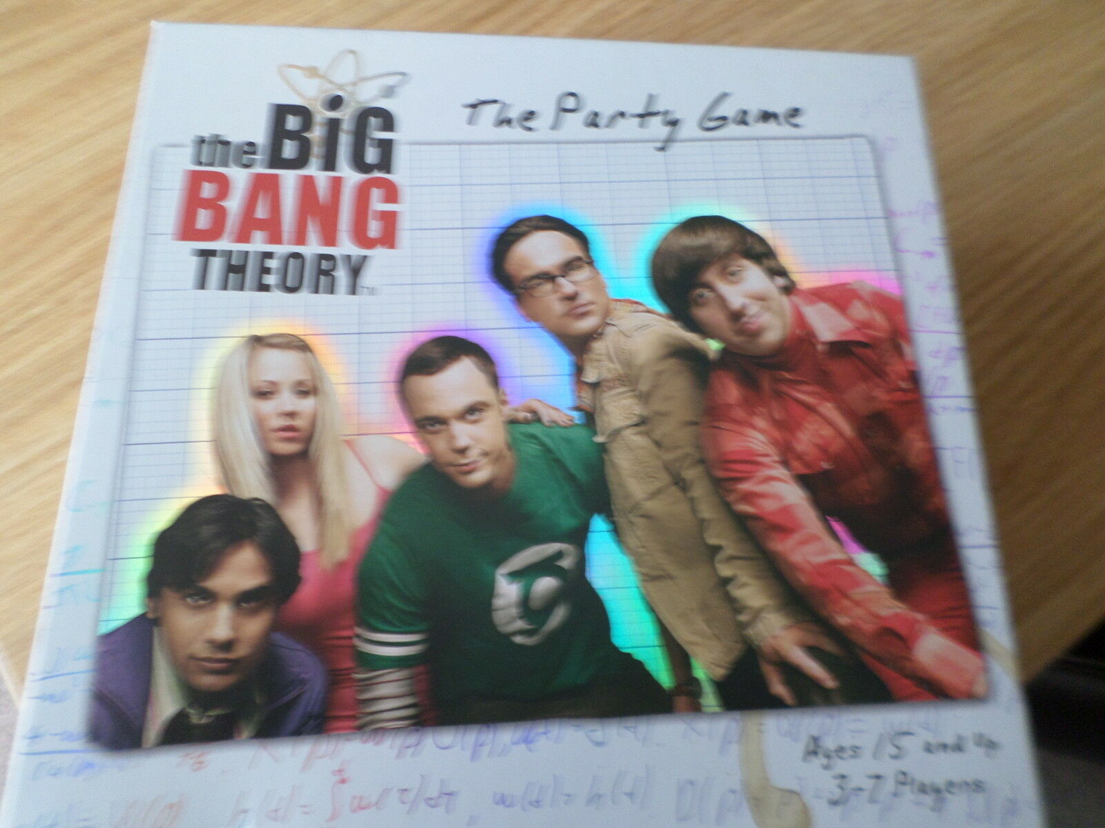 THE THEORY BIG BANG THEORY THE  PARTY GAME BOXED COMPLETE FREE POST 13b3e7