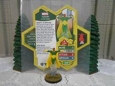 Heroscape Custom Vision Double Sided Card & Figure w/ Sleeve Marvel