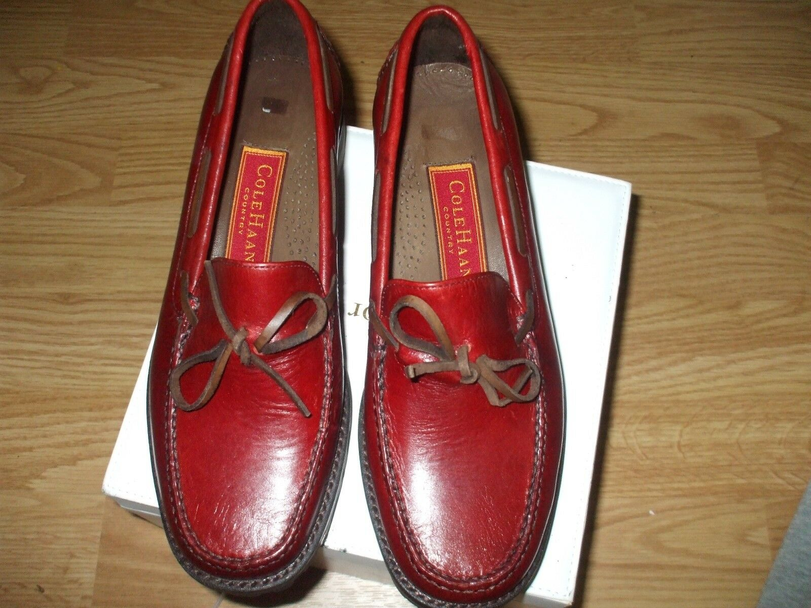 Cole Haan country country country dark rouge leather oxfords loafers school casual comfort chaussures 90c5e3