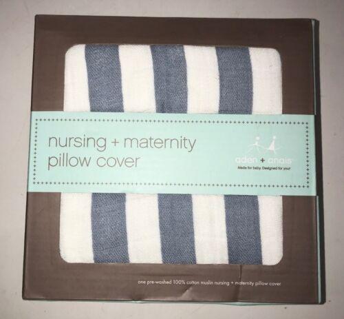 100/% Cotton Muslin Maternity Pillow Cover anais Nursing aden