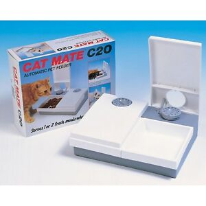 Cat-Mate-C20-Automatic-2-Meal-Feeder-with-Ice-Pack
