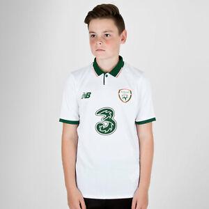 842158c918c New Balance Republic of Ireland 17/18 Kids Away S/S Replica Football ...