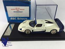 1/43 ABC BRIANZA 184  NO BBR MASERATI MC12 STRADALE 2004