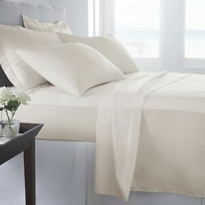 Linens Factory 820 Thread Count Queen - Sheet Set Ivory