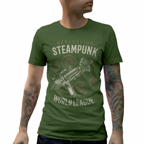 Generation T-Shirt Steampunk Fantasy Technology Industrial War Game 19Th A671