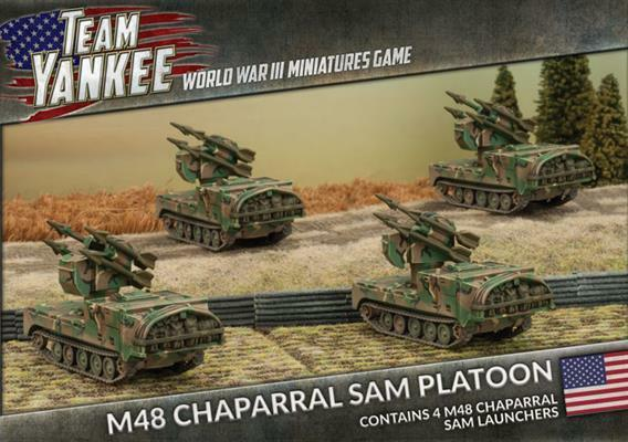 Flames of War - Team Yankee WWIII - M48 Chaparral Sam Platoon