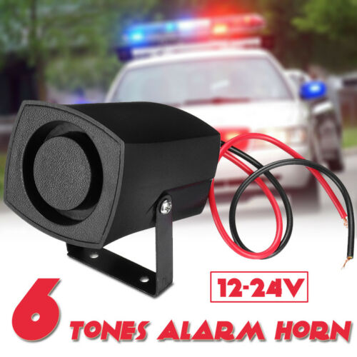 Universal 12-24V Wired Loud Alarm Siren Horn For Home Security Protection System