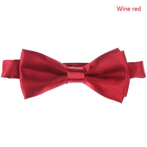 Boys Quality Bow Ties Boys Adjustable Bow Tie Kids Prom Dot Bow Tie Children /_sh