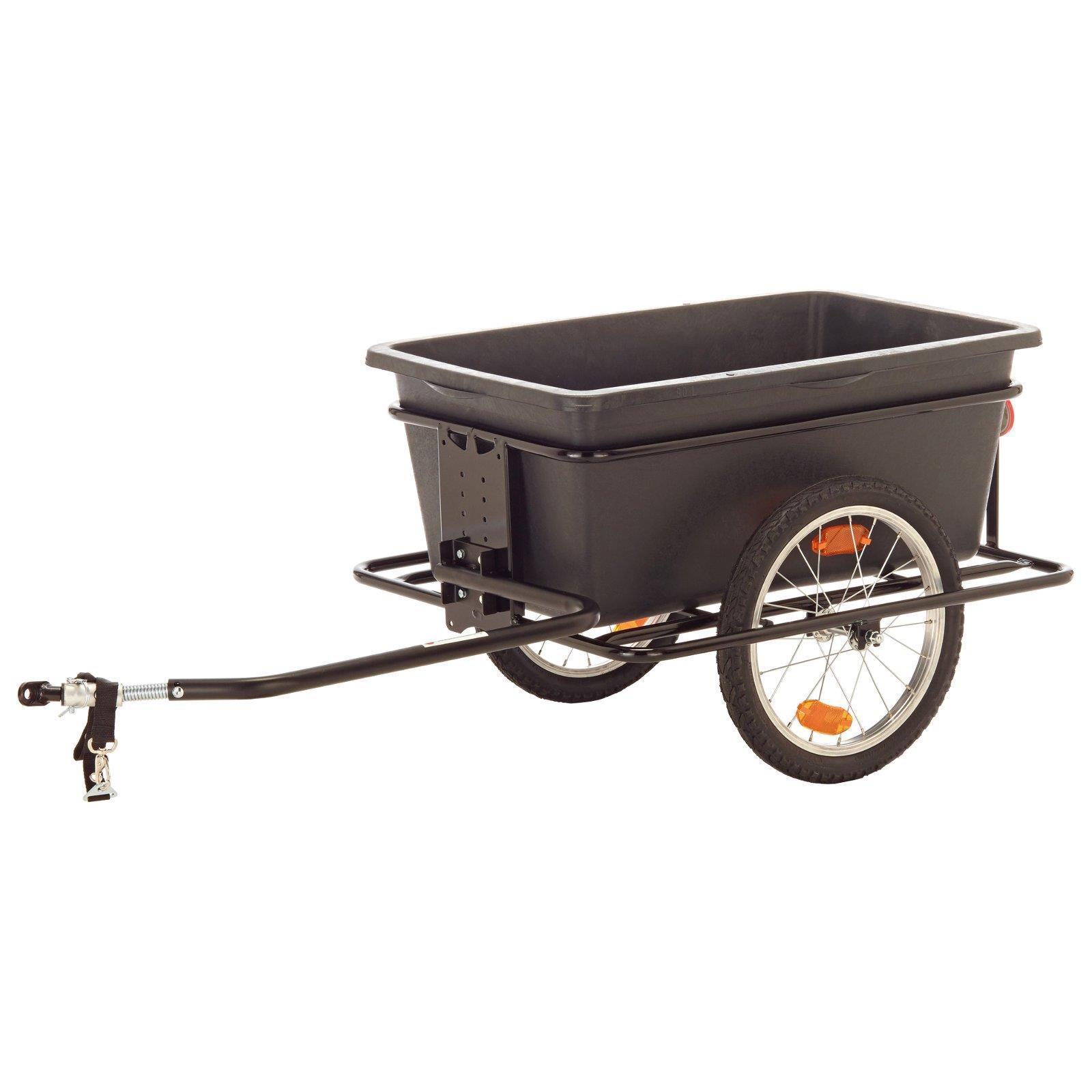 Roland Big Boy remolque de bicicleta Cochero de mano 90l + acoplamiento tiefdeichsel tipo C 16