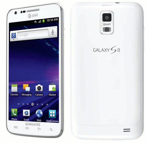 1 of 1 - White AT&T SAMSUNG GALAXY S2 S II SKYROCKET SGH-I727 4G LTE 16GB GSM SMARTPHONE