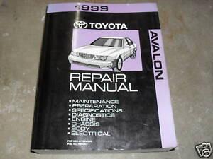 1999 toyota avalon service repair shop workshop manual factory oem rh ebay com 2005 toyota avalon service manual 2000 toyota avalon service manual