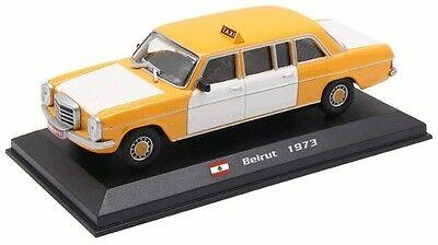 Beirut Taxi Mercedes 240D No27 Liban 1973-1//43