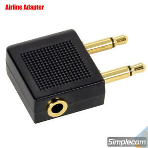 Airplane-Airline-Travel-Headphones-Earphone-Jack-Audio-Adapter-Converter-3-5mm