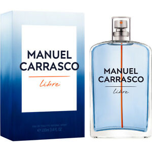 Detalles de Perfume Colonia EAU DE TOILETTE LIBRE DE MANUEL CARRASCO Para Hombre 100ml