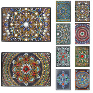 DIY-Special-Shaped-Diamond-Painting-Mandala-50-Pages-A5-Sketchbook-Drawing-Book