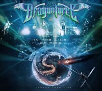 DRAGONFORCE - IN THE LINE OF FIRE  CD + DVD NEU