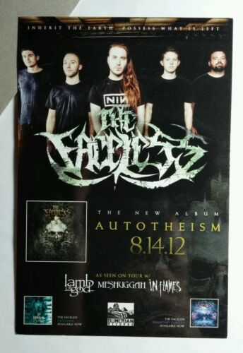 FACELESS AUTOTHEISM PERIPHERY VEIL OF MAY 4x6 SM POSTER POSTCARD