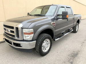 2008 FORD F-350 4X4 CREW CAB SHORT BOX DIESEL VERY LOW KMS DEAL!