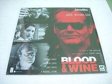 BLOOD & WINE /  laserdisc film in italiano