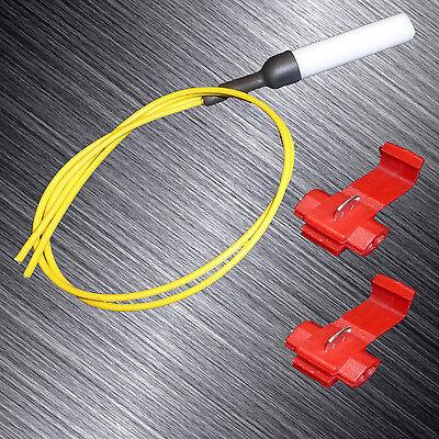 Airbag Gurtstraffer Deaktivierung Premium mit Stecker für Opel Corsa