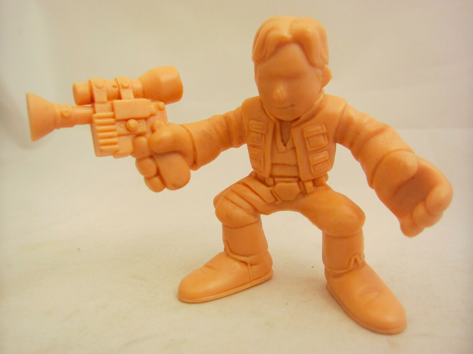 Star Wars Prototype Test Shot Han Solo Figure Galactic Heroes Toy 2.5  Tall 2001