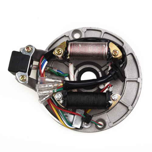 Details about  /FOR 90-125cc For Pit Bikes Pitbike Motorcycle Stator Plate Pickup Coil Rotor