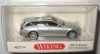 silber 0227 04-1:87 Wiking Mercedes E-Klasse T-Modell S213