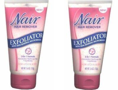 Lot Of 2 Nair Hair Remover Exfoliator 5 4 Oz Ebay