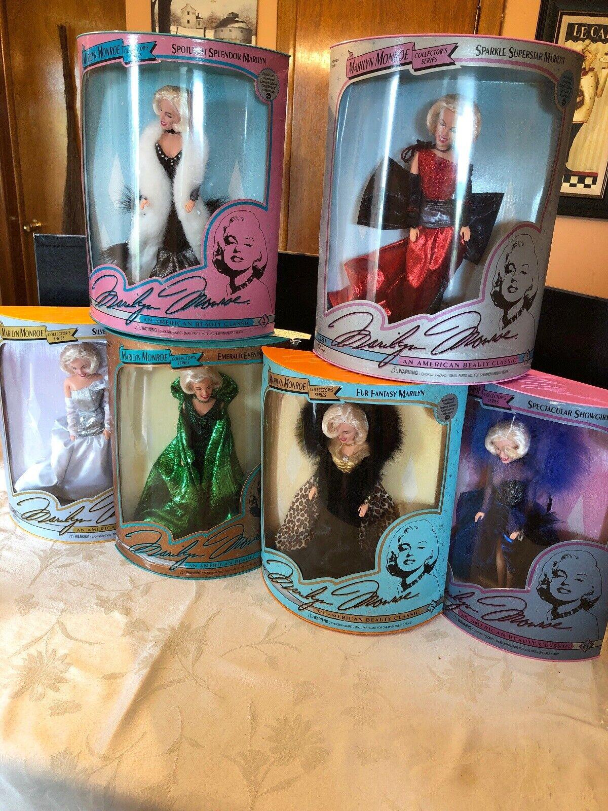 Marilyn Monroe Collector's Series-juego completo de seis-Nuevo En Caja