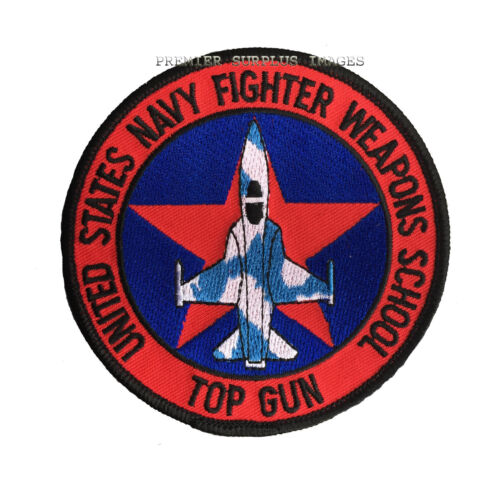NEW US Navy Top Gun Flight Badge Patch