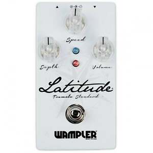 wampler pedals latitude standard tremolo guitar effect pedal brand new ebay. Black Bedroom Furniture Sets. Home Design Ideas