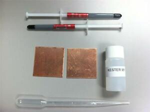 FAULTY-PS3-FAT-SLIM-COPPER-SHIMS-FIX-REPAIR-KIT-YLOD-THERMAL-PASTE-KESTER-951