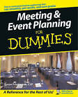 Meeting and Event Planning For Dummies by Susan Friedmann (Paperback, 2003)