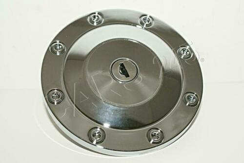 Locking Fuel Cap PEUGEOT 206 1998 CIBIE Chrome with two keys