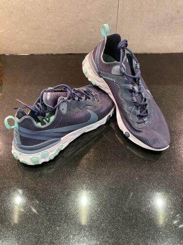 Nike React Element 55 Navy Uk Size 10