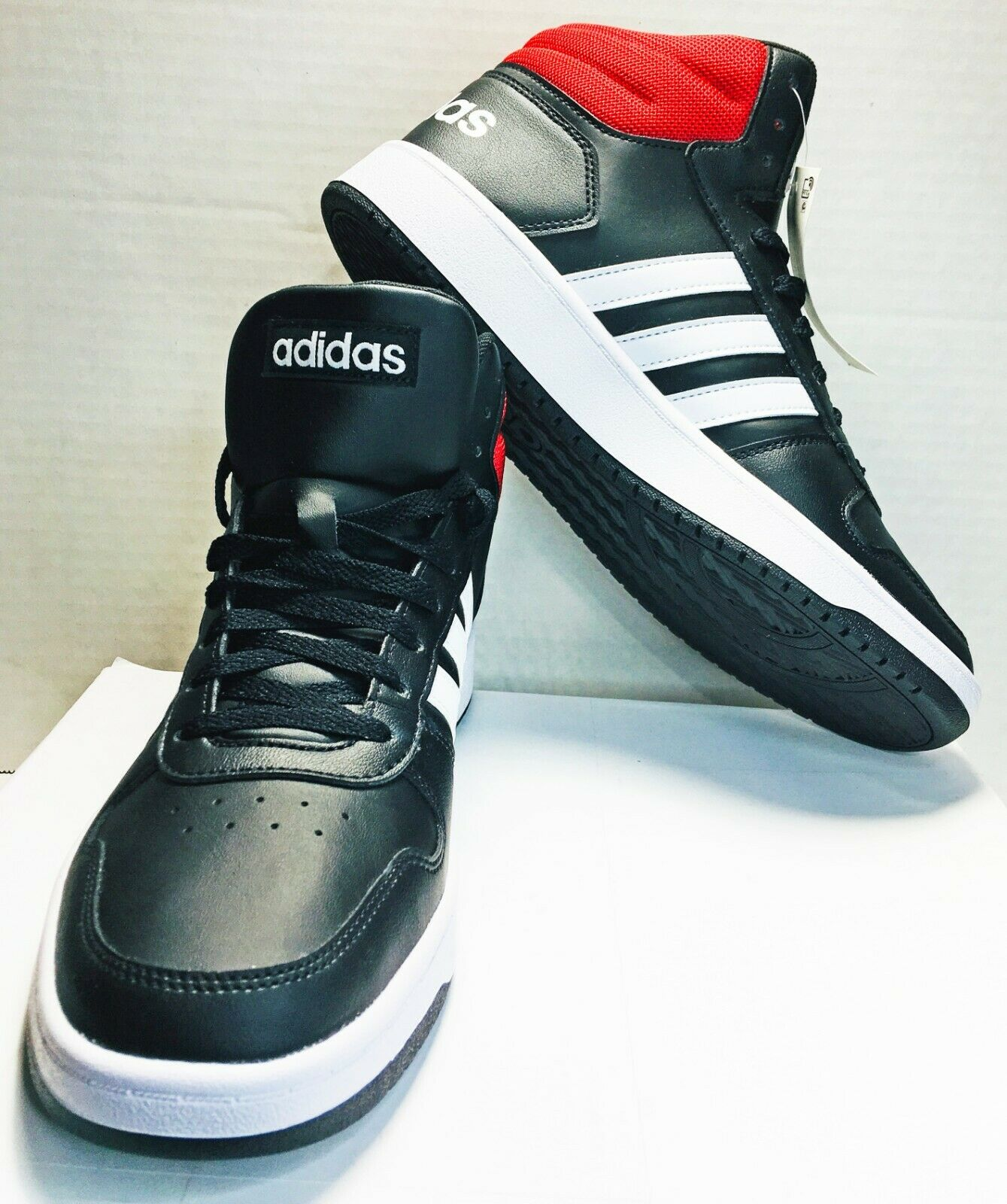 Adidas Hoops 2.0 mid women Chaussures Originals baskets High Top Sneaker ee7857