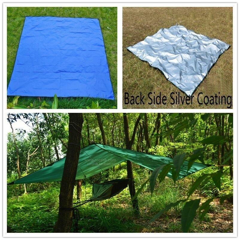 8 Of 11 Picnic Pad Camping Tent Awning Sun Shade Rain Shelter Mat Beach Tarp Outdoor New