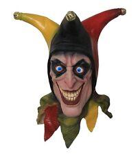 Creepy, Smiley Mask Adult Scary Circus Clown Evil Halloween Costume Harror New