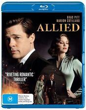 Allied (Blu-ray, 2017) NEW