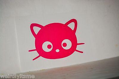 Hello Kitty Nerd Nerdy Glasses Vinyl Car Bumper Laptop iPad Tablet Decal Sticker