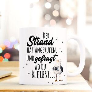 Haben Sie Einen Fragenden Verstand Lustige Tasse Becher Geschenk Kaffeebecher Druck Kaffetasse Möwe Spruch Ts641 Büro & Schreibwaren Geschenk- & Werbeartikel