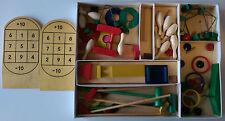 6 sporting games - Vintage Original Schowanek - Lots of wooden pieces