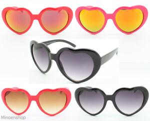 acd1a08fb2bd50 pour enfants filles forme cœur Lolita Lunettes de Soleil Coloré ...