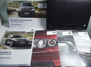 oem 2013 bmw x5 owners manual owner s manual book black leather rh ebay ie 2014 bmw x5 owners manual pdf 2014 bmw x5 owners manual pdf